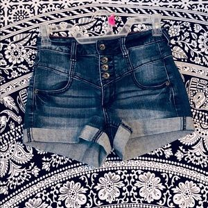 Hot Topic High Waisted Jean Shorts